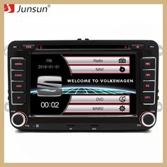 Junsun 7 inch 2 Din Car Radio DVD GPS Player For Seat/Altea/Toledo/Leon/Alhambra With GPS Navigation/Bluetooth/FM/Canbus