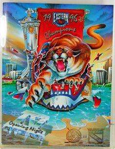 Florida Panthers NHL 1996 Opening Night Program V NY Rangers Eastern Conference #FloridaPanthers