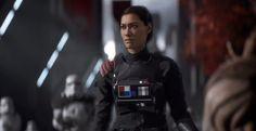 'Star Wars Battlefront II' Commander Iden Versio-Inspired Dress