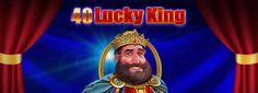 Cea mai noua lansare EGT Interactive destinata cazinourilor online este 40 Lucky King. #40luckyking #jocurionline #onlinegaming #egtinteractive #wemakepeopleplay #egtromania Mai, Neon Signs, King