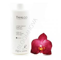 Thalgo Super Lift Tonic Lotion – Lotion Tonique Super Lift 500ml - For women in search of skin-comforting cleansing products suitable for their mature skin. #Thalgo #salonSize #skincare #matureskin #tonique #beauty