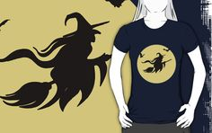 Halloween witch T-Shirts & Hoodies by mrhighsky on redbubble