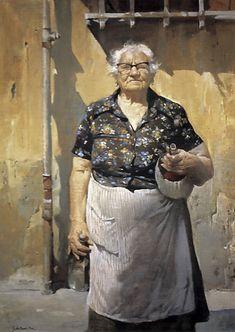 Burton Silverman, Signora