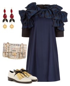 """""""Untitled #80"""" by i-teddybear on Polyvore featuring Anna K, Marni and Chanel"""