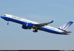 United Airlines N596UA Boeing 757-222