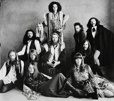 60's This is a photo of an early hippie group. (Irving-Penn)?