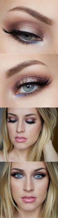 Eye Makeup Tips For Blue Eyes Best Ideas For Makeup Tutorials Eyeshadow Tutorials For Blue Eyes. Eye Makeup Tips For Blue Eyes 5 Makeup Looks That Make Blue Eyes Pop Blue Eyes Makeup Tutorial. Eye Makeup Tips For Blue Eyes… Continue Reading → Wedding Makeup For Blue Eyes, Blue Eye Makeup, Skin Makeup, Wedding Make Up, Blue Eyeliner, Trendy Wedding, Eyeliner Makeup, Wedding Blue, Eyeliner Ideas