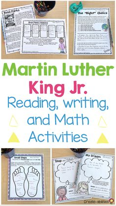 Reading and Writing Activities Writing Activities, Winter Activities, Grammar Practice, Nouns And Verbs, Fourth Grade, Third Grade, 4th Grade Classroom, Reading Passages, King Jr