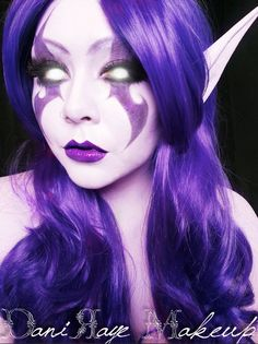 Night Elf makeup by DaniRaye Makeup for Tutorial check this link --> https://www.youtube.com/watch?v=Yzku7GUMPUs&list=UUQYOrC6LyJNQKJ3DIRPb10Q