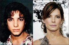I love Sandra...this only reaffirms that everyone has had a damn nose job...geez!