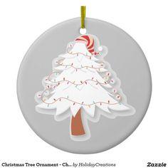 Christmas Tree Ornament - Christmas Tree Design #christmas #holidays #ornaments  #home #shopping #style #christmastree #homedecor #gifts