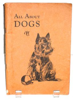 Vintage 30s Abercrombie and Fitch All About Dogs catalog with goods health tips grooming by sweetalicelovesyou on Etsy