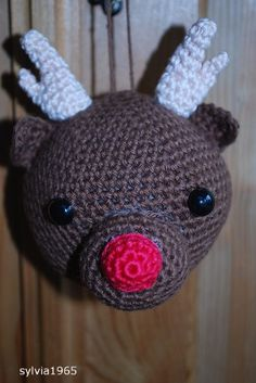 Rudolf rendier kerstbal
