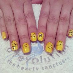 Winnie pooh by Emmapbrock from Nail Art Gallery