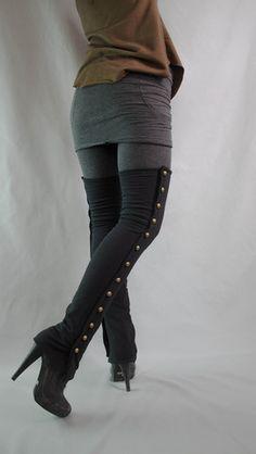 "Bamboo fleece ""Dragoon"" leg warmers @rsjoberg714 wanna make these for me? Haha"