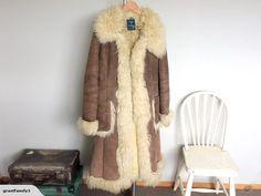 Fantastic 1970's Afghan coat.