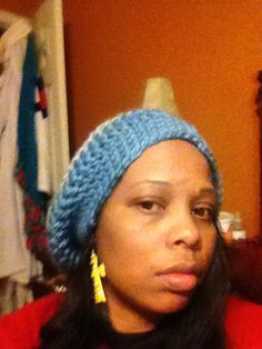 Slouchy hat  on Etsy, $20.00