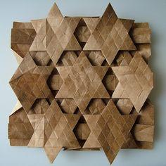 Origami tessellation
