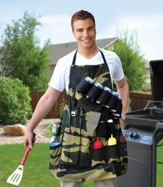 The Grill Sergeant BBQ Apron for Dad #for #dad #buy >> promoofferhub.com