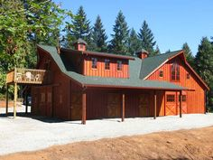 Great Western Style - The Barn Factory--Great Western (The Oregonian)   52 x 72 w/ Full Loft