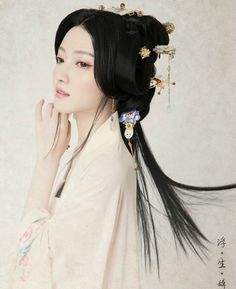 Chinese Hanfu beauty