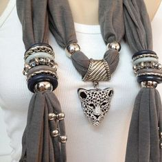 coral color jewelry scarf - wrinkle... - Поиск в Google