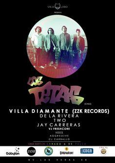 Los Tetas | 6 de julio 2013 | Casa Babylon Club - Córdoba, Argentina | Booking/Producción Pop Société