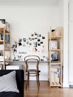 small bedroom decor ideas bookshelf desk