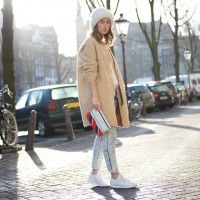 amazing outfit #coat #jeans #perfectmatch