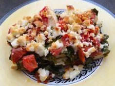 Tofu Feta Tomato Bake Recipe