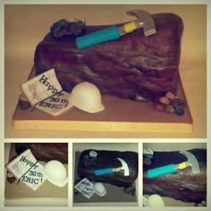 Geology cake.