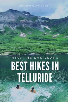 Telluride isn't just a winter skiing destination. The surrounding San Juan Mountains are hiking wonderland in summer and fall. Here's the top 10 best hikes in the Telluride area! Telluride Colorado, Boulder Colorado, Colorado Springs, Road Trip To Colorado, Colorado Hiking, Rocky Mountain National, National Forest, Tahiti, Colors