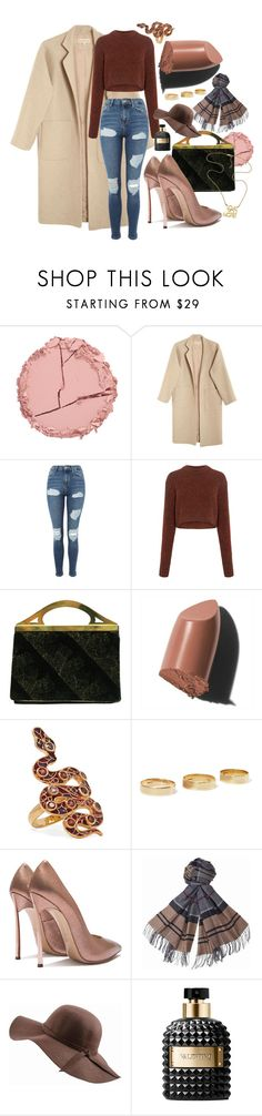 """Winter Coat"" by jelisaj ❤ liked on Polyvore featuring Estelle & Thild, Mara Hoffman, Topshop, TIBI, Bobbi Brown Cosmetics, Diego Percossi Papi, Loren Stewart, Barbour, N'Damus and Valentino"