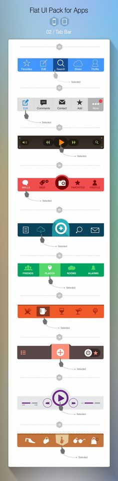 1 Flat UI Pack for Apps – Build Apps. Beautifully on – Flat UI Pack for Apps – Build Apps. Beautifully on Flat UI Pack for Apps – Build Apps. Mobile App Design, Mobile Ui, Gui Interface, User Interface Design, Application Mobile, Application Design, Software, Menu Web, Design Responsive