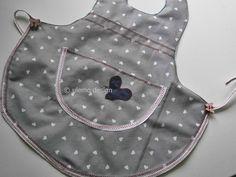 Schürzen - Kleinkinderschürze, Kochschürze, abwaschbar - ein Designerstück von ULeMo bei DaWanda