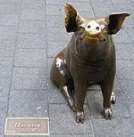 One of the Rundle Mall Pigs!