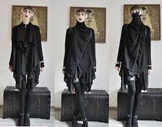 Nugoth avant garde fashion. Alternative style.