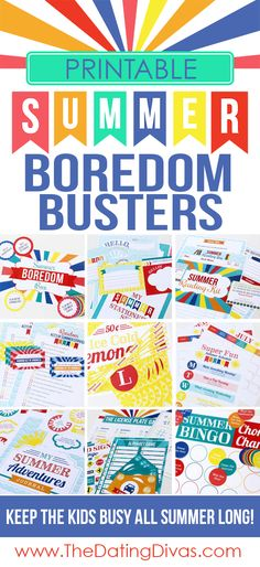 Printable-Summer-Boredom-Busters-for-Kids.jpg (550×1200)