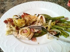 Italian Artichoke Chicken with Asparagus - The Fit Cookie