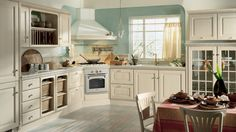 8 Wise Tips: Kitchen Remodel Layout Galley kitchen remodel design budget.Kitchen Remodel Tips Butcher Blocks inexpensive kitchen remodel curtains.Mobile Home Kitchen Remodel Single Wide. Country White Kitchen, Modern Country Kitchens, Country Kitchen Designs, Rustic Kitchen, Home Kitchens, Wooden Kitchens, Italian Kitchens, 1970s Kitchen Remodel, Galley Kitchen Remodel