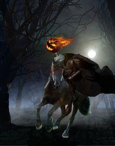 Image result for headless horseman poem