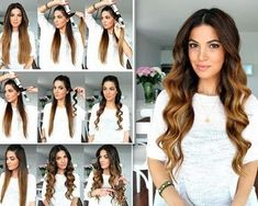 Wavy hair doesn't just have to be a summer look, it can also be an everyday look. Here are 25 ways to make your hair wavy & beautiful! http://therighthairstyles.com/5-ways-of-how-to-make-your-hair-wavy/