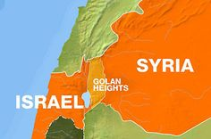 Syrian military official accuses Israel of siding with rebels after one of its aircraft is downed over Golan Heights.