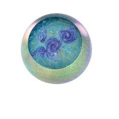 Hand Blown Glass Paperweights | Hand Blown Glass Paperweight - Soul Nebula