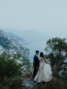 Amalfi Coast, Italy Wedding //European Destination Inspiration //  Photography by Forged in the North // Event planning: Glam Events in Tuscany // Wedding Dress by Truvelle