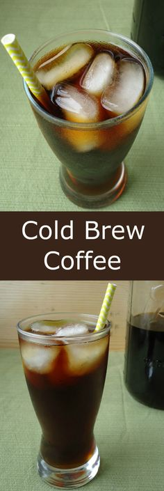 Cold Brew Coffee   Unwed Housewife   Homemade cold brew coffee. Simple, must-have recipe. Perfect for Spring and Summer.
