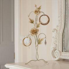 Floral Jewellery Stand Jewellery Stand, Jewelry Making, Wreaths, Floral, Home Decor, Decoration Home, Door Wreaths, Room Decor, Jewelry Stand