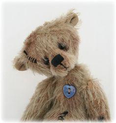 Pipkins Bears artist teddy bear E pattern  PDF by pipkinsbears, $11.60