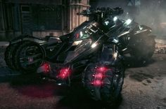 Latest Batmobile shown ahead of 2015 Batman: Arkham Knight launch