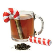DCI Holiday Candy Cane Tea Infuser